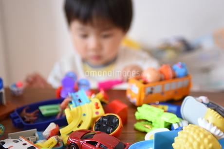 ごちゃごちゃおもちゃの写真素材 [FYI04304247]