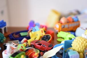 ごちゃごちゃおもちゃの写真素材 [FYI04304248]