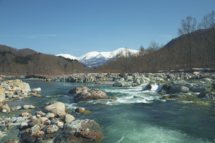 寒河江川の写真素材 [FYI04305135]