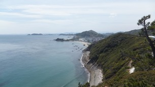 徳島・鳴門の海の写真素材 [FYI04305476]