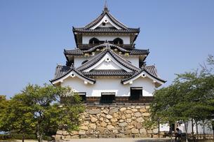 日本100名城の彦根城の写真素材 [FYI04305622]