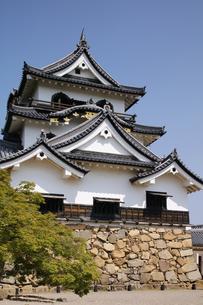 日本100名城の彦根城の写真素材 [FYI04305623]