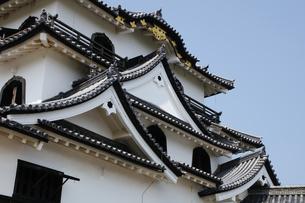 日本100名城の彦根城の写真素材 [FYI04305626]