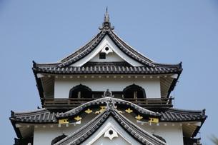 日本100名城の彦根城の写真素材 [FYI04305627]