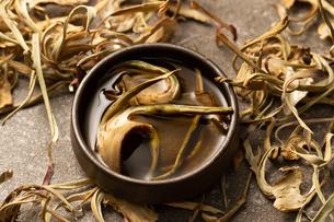 アーティチョーク茶の写真素材 [FYI04306381]