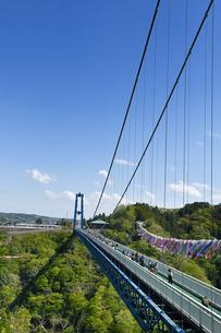 茨城県の竜神大吊橋の写真素材 [FYI04307143]