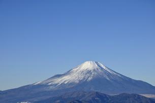 冬晴に富士山の写真素材 [FYI04307471]