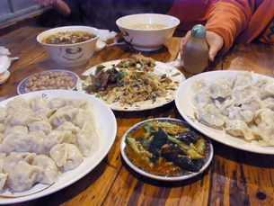 台湾水餃子 Chinese Dumpling   Taiwan の写真素材 [FYI04307592]
