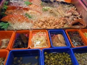 台湾の市場の魚  Taiwan market  fishの写真素材 [FYI04307593]