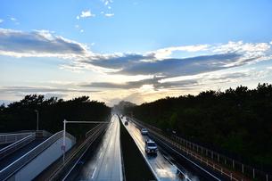 雨上がりの134号線の写真素材 [FYI04307742]