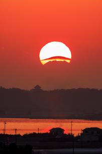 茨城県 霞ヶ浦と富士山の写真素材 [FYI04307771]