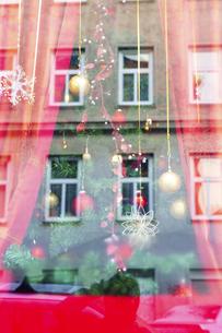 クリスマス  ウィンドウディスプレイ ウィーン  オーストリアの写真素材 [FYI04308023]
