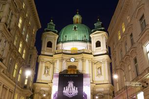 ペーター教会 ウィーン オーストリアの写真素材 [FYI04308030]