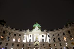 ホーフブルク宮殿(王宮)ウィーン オーストリアの写真素材 [FYI04308033]