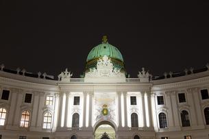 ホーフブルク宮殿(王宮)ウィーン オーストリアの写真素材 [FYI04308034]