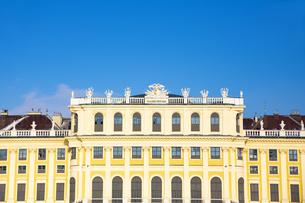 シェーンブルン宮殿 ウィーン  オーストリアの写真素材 [FYI04308044]