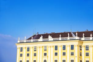 シェーンブルン宮殿 ウィーン  オーストリアの写真素材 [FYI04308045]