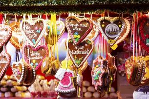 レープクーヘン  クリスマスマーケット  ウィーン オーストリアの写真素材 [FYI04308050]
