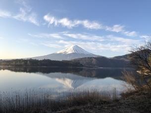逆さ富士の写真素材 [FYI04308481]