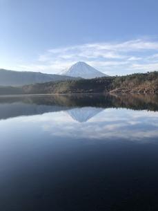 逆さ富士の写真素材 [FYI04308486]