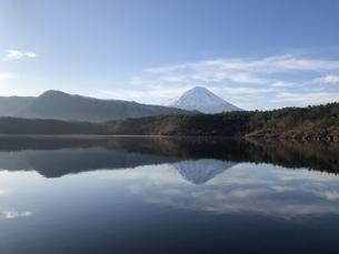 逆さ富士の写真素材 [FYI04308487]