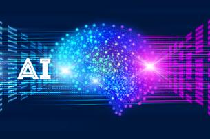 AI・人工知能・ディープラーニング・画像認識・機械学習の写真素材 [FYI04308599]