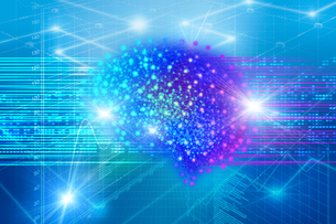 AI・人工知能・ディープラーニング・画像認識・機械学習の写真素材 [FYI04308600]