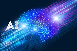 AI・人工知能・ディープラーニング・画像認識・機械学習の写真素材 [FYI04308611]