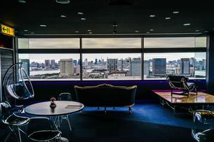テレコムセンターから見える東京の街並みの写真素材 [FYI04308796]