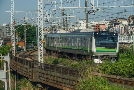横浜線のイメージの写真素材 [FYI04308864]