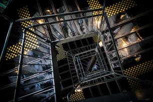 螺旋階段のイメージの写真素材 [FYI04308889]