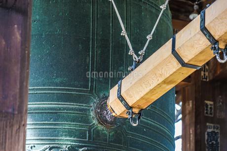 除夜の鐘のイメージの写真素材 [FYI04308918]