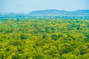 シーギリヤロックの頂上から見える風景の写真素材 [FYI04308942]