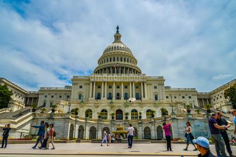 アメリカ合衆国議会議事堂(United States Capitol)の写真素材 [FYI04308970]