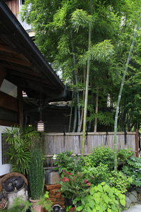 箱根湯本温泉の旅館の風情の写真素材 [FYI04309355]