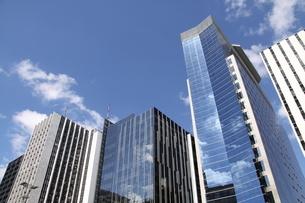 サンパウロのビジネス街の写真素材 [FYI04310023]