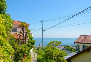神戸市 垂水区塩屋高台からの見晴らしの写真素材 [FYI04310194]