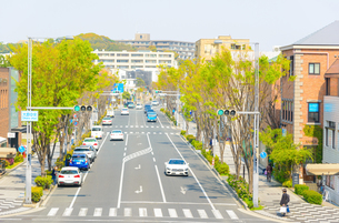 関西の街並み 芦屋市の写真素材 [FYI04310196]