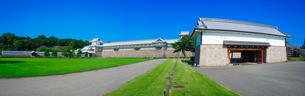 金沢城パノラマ (三の丸跡 橋爪櫓 多聞櫓 五十間長屋 菱櫓 可北門)の写真素材 [FYI04310807]