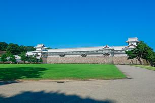 金沢城三の丸跡(橋爪櫓 多聞櫓 五十間長屋 菱櫓)の写真素材 [FYI04310809]