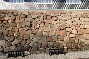 金沢城石川門の石垣の写真素材 [FYI04310896]