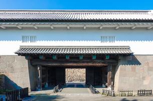 金沢城 石川門 (枡形門)の写真素材 [FYI04310899]