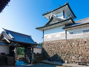 金沢城 石川門の石川櫓の写真素材 [FYI04310900]
