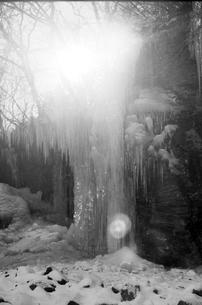 埼玉県秩父の三十槌の氷柱  Misotsuchi icicleの写真素材 [FYI04310953]