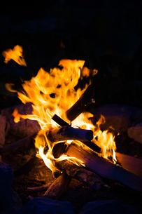 焚き火の写真素材 [FYI04311081]