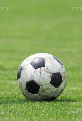 サッカーボールの写真素材 [FYI04311087]