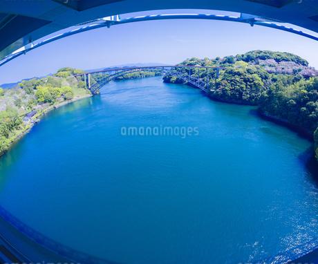 長崎県 新西海橋遊歩道よりの展望の写真素材 [FYI04311569]