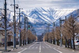 日高山脈と芽室町の写真素材 [FYI04312420]