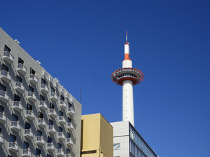 京都タワーの写真素材 [FYI04312989]