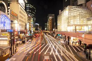 仙台駅西口夜景の写真素材 [FYI04313602]